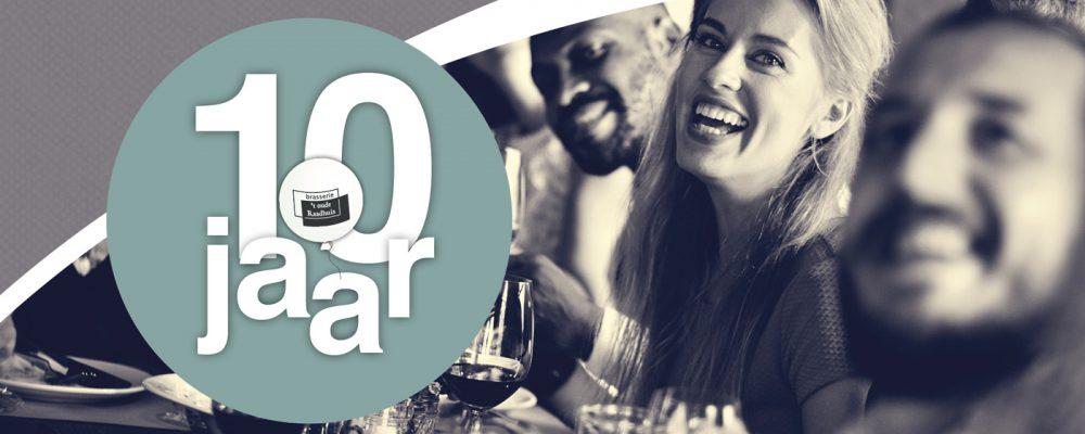 Brasserie 't Oude Raadhuis bestaat 10 jaar